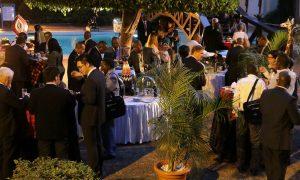 Poolside Reception